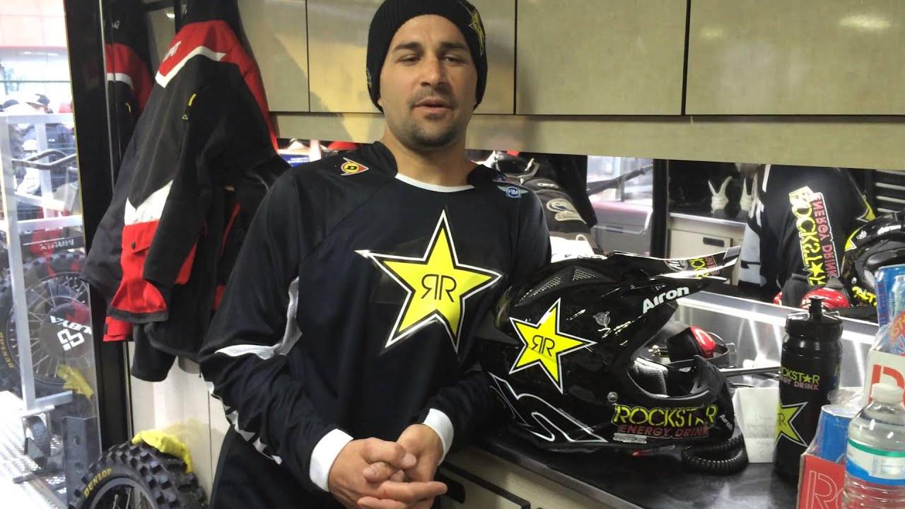 Ivan Tedesco Invites You To Join Airoh Rockstar Helmet