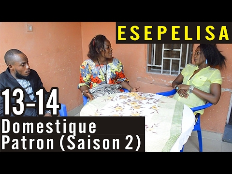 Domestique Patron 13-14 (Saison 2) -  Nouveau Theatre Congolais 2016 Modero Esepelisa