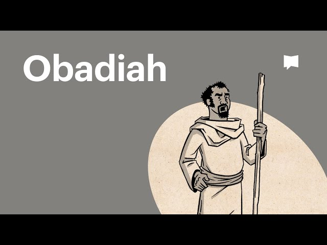 Overview: Obadiah