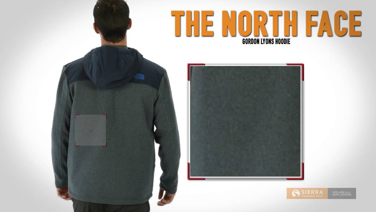 43a201899 The North Face Gordon Lyons Hoodie - Insulated, Full Zip (For Men)
