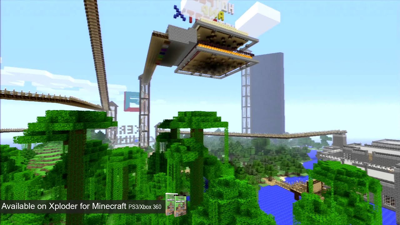 Mini Games Minecraft Map Xploder Special Edition For