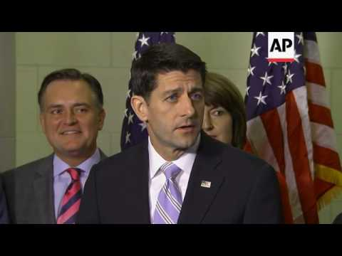 GOP Re-Nominates Paul Ryan to be House Speaker
