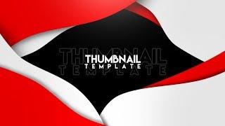 Free Minimalistic Youtube Thumbnail Template[Less Than 3mb!!]