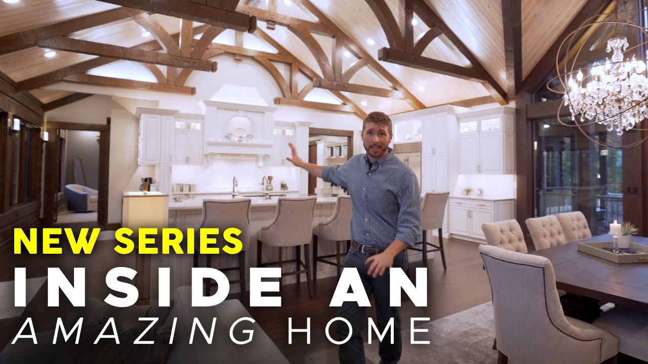 Inside an AMAZING Home – NEW SERIES COMING DECEMBER 12!