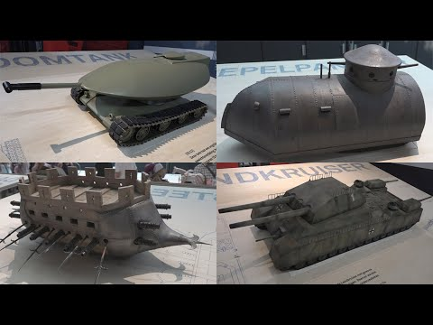 Twentyone prototanks and tank concepts that never made it to battle