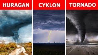 Huragan, tornado, cyklon - czym się różnią?