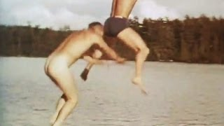 Summer Camp & Skinny Dipping Lake Temagami 1940's
