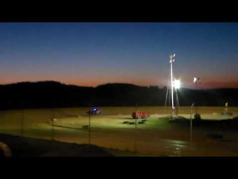 Marion Center Speedway 8/6/16 Pure Stock Heat 1