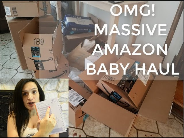 9f4420d11 I SPENT $1300 ON BABY STUFF (AMAZON) OMG!! BEST DEALS. WORTH IT?? MASSIVE  NEW BORN HAUL, BABY HAUL - Playing.