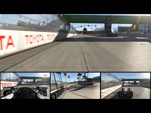 Forza 5 - Long Beach - Multicam IndyCar