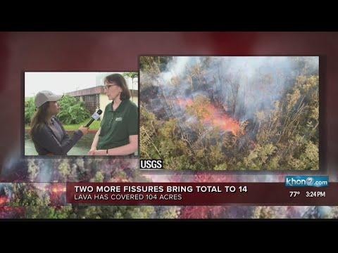 3pm update from Hawaiian Volcano Observatory, Hawaii County Civil Defense