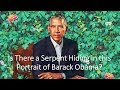 Is There a Serpent Hidden in the Portrait of Barack Obama