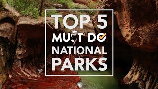 TOP 5 National Parks in the US | Must Do Travels
