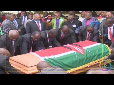 The late Nyeri governor Nderitu Gachagua's eulogized by family and leaders during burial