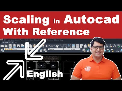 Scaling in Autocad with reference