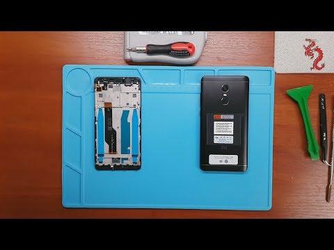XIAOMI REDMI NOTE 4X //РАЗБОР смартфона, ОБЗОР изнутри //Замена экранного модуля на ОРИГИНАЛ