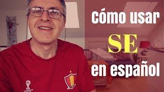 Usos de se en español