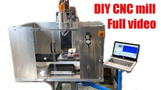 How to build A CNC machine _ DIY CNC mill