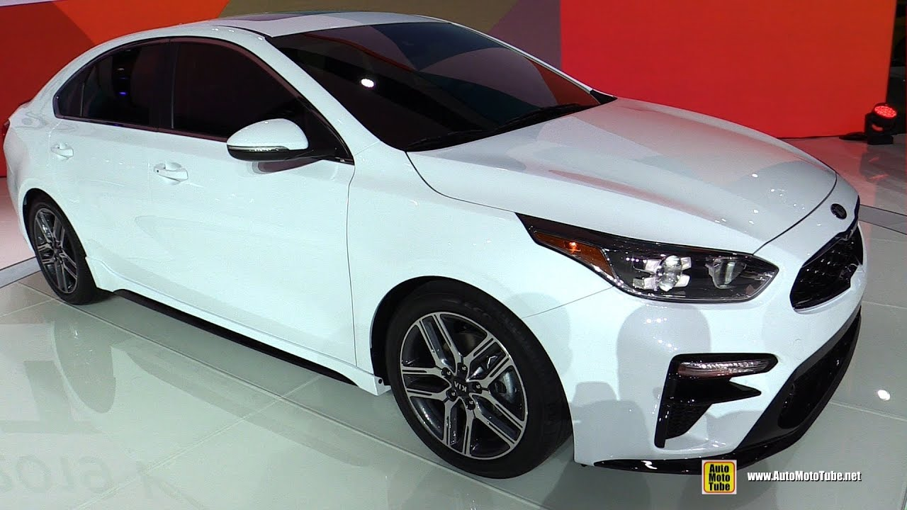 2019 Kia Forte Exterior And Interior Walkaround Debut At 2018