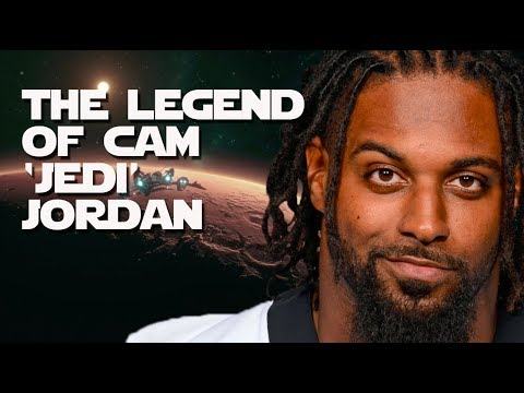 Cam Jordan is a JEDI KNIGHT in a Saints uniform