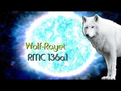 Estrela Mais Brilhante! Wolf Rayet R136a1 Space Engine