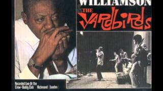 Sonny Boy Williamson and the Yardbirds - Pontiac Blues