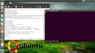 Sistem Operasi: Praktikum 7 Unix System Call dan Manajemen Memory