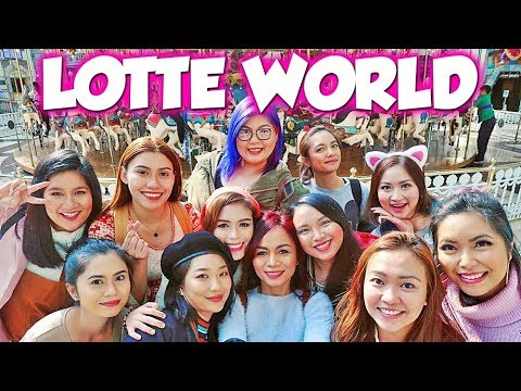 BALIK PAGKABATA SA LOTTE WORLD! KOREA DAY 2 PART 1 | Bing Vlogs