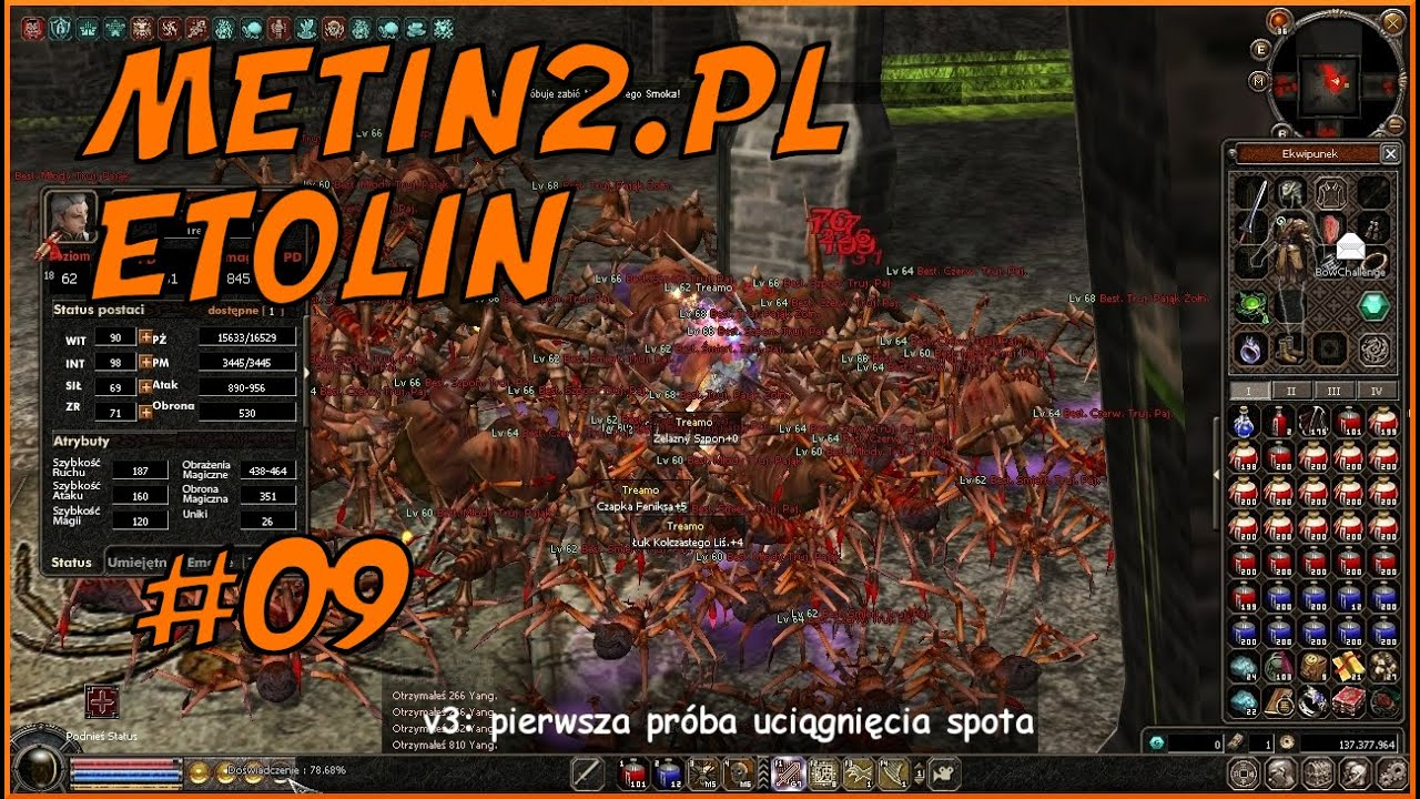 LEGALNY SPEEDHACK NA PL'U - [#09] METIN2.PL ETOLIN