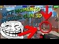 WTF MOMENTS IN PIXEL GUN 3D! (Hacking, Teleporting, Blasting through walls!)