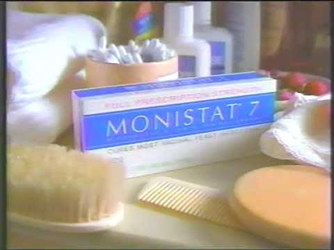 1992  Monistat 7 Yeast infection remedy Commercial