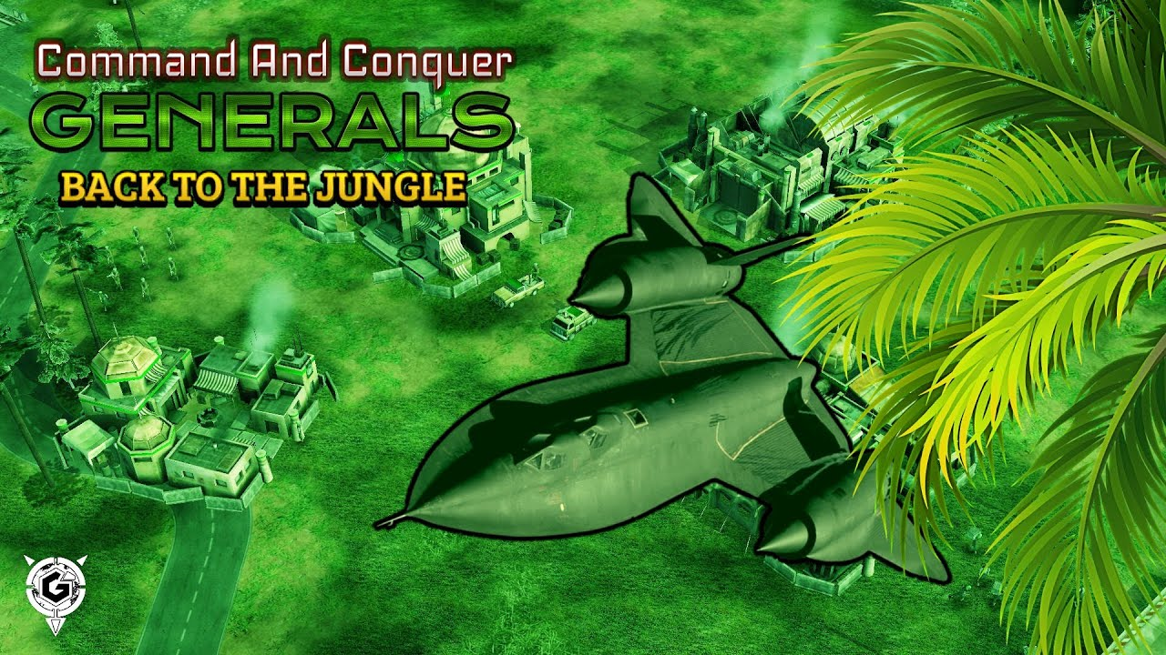 Command and Conquer Generals - Superweapons Inside Jungle (BETA)