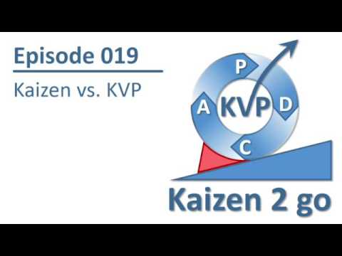 Kaizen 2 go 019 : Kaizen vs. KVP
