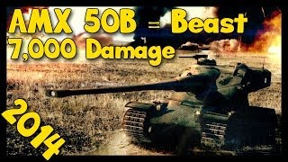 ► World of Tanks AMX 50B Gameplay | Back on the Road [7,000 Damage] and Announcement