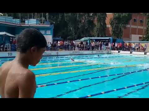 Manav Dileep 50mts Breast Stroke 63rd Swimming National school games state selections 2017