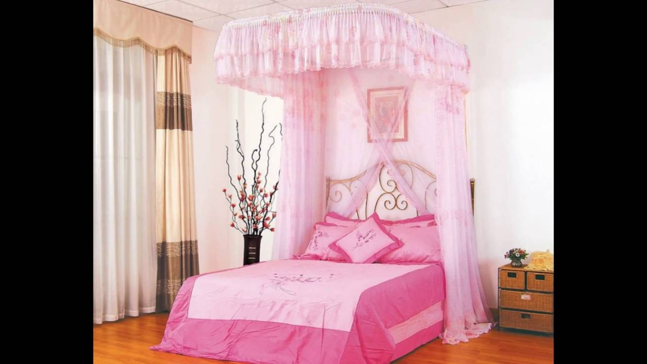 Full Size Canopy Bed For Girl Amp Girls Room Decorationns