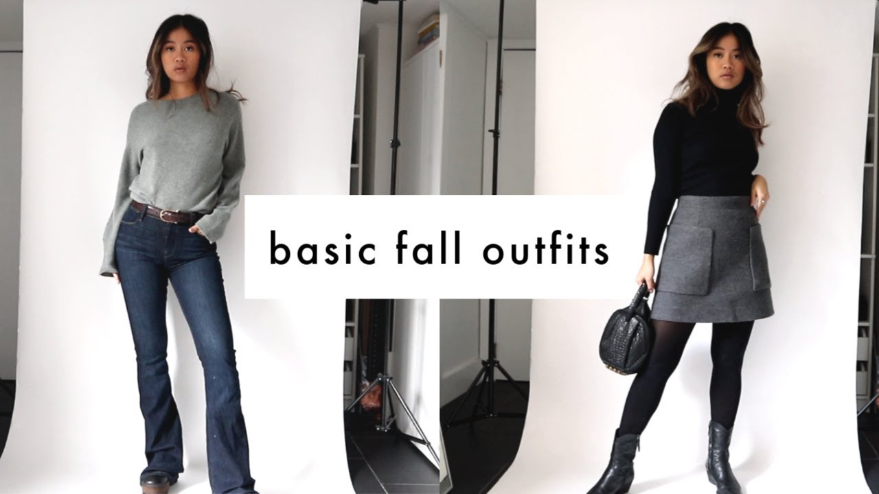 [VIDEO] - basic fall outfits you'll actually wear 9