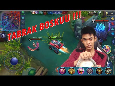 Sini Abang Bonceng Tapi Pegangan Ya wkkwkw – Johnson Build Review – Mobile Legends #29