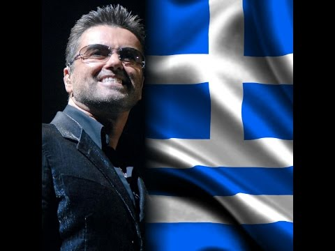 🎼GEORGE MICHAEL IN ATHENS 25 LIVE 2007_ FREEDOM GREEK FLAG