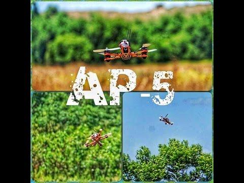 Drone - AP-5 AP5 by airpix first test flight by Dean Vaturi