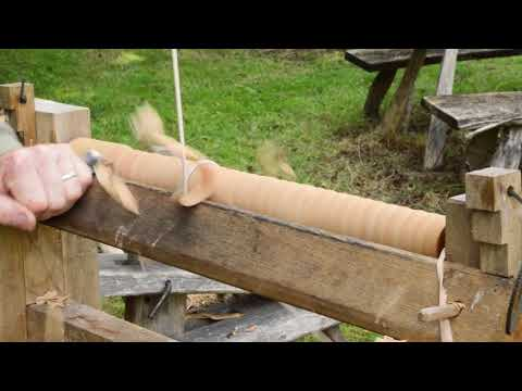 An Introduction to Green Woodwork - Part 4: The Pole Lathe