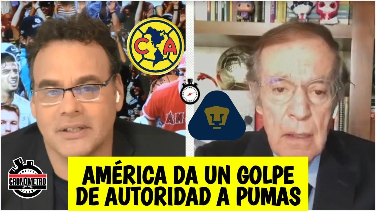 LIGA MX América CALMA las críticas con su liderato y hunde más a los Pumas
