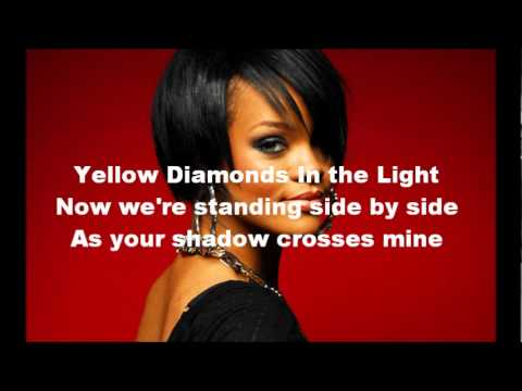 We Found Love (instrumental with lyrics) - Rihanna feat. Calvin Harris
