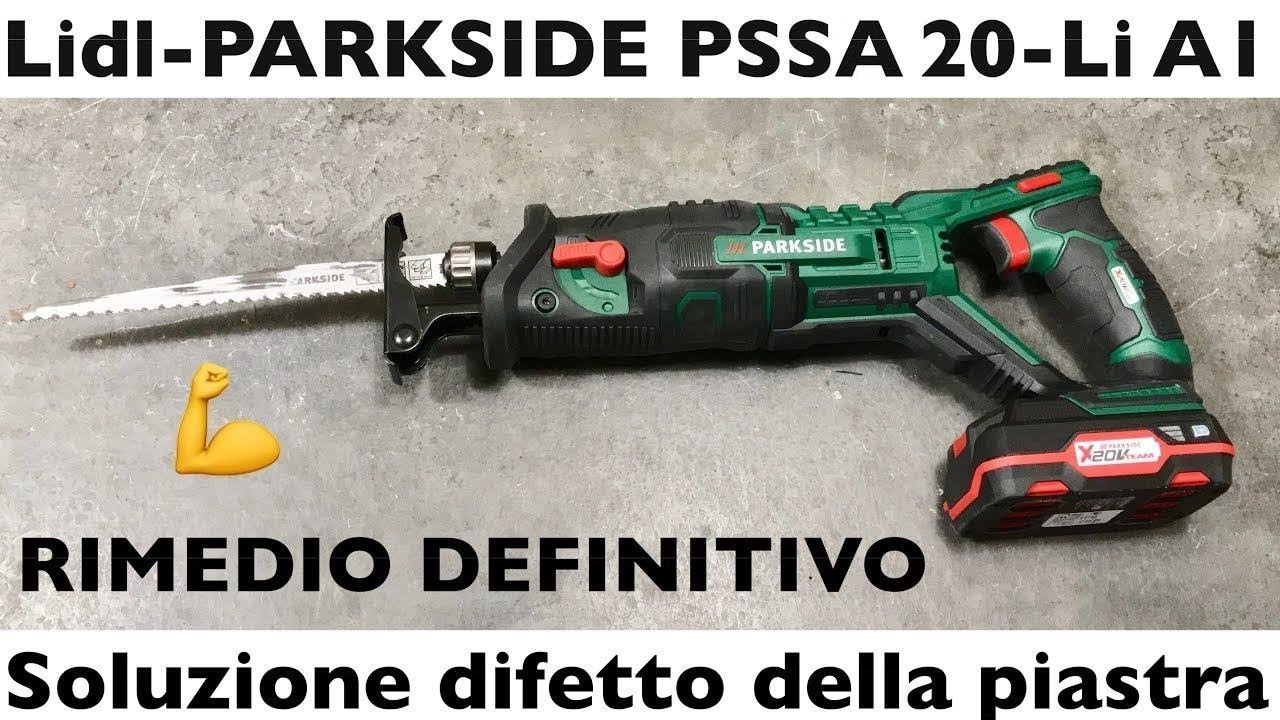 Seghetto a gattuccio a batteria lidl pssa 20 li a1 for Seghetto alternativo parkside lidl