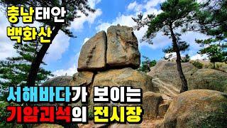 """등산△백화산 충남태안 """"기암괴석의 전시장!&q…"""
