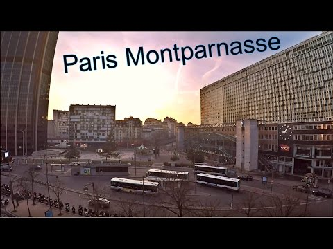 Montparnasse ; Bus ; Paris ; Île-de-France ; Avenue du Maine ; Paname ; Capitale ; France