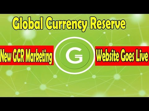 New GCR Marketing Website Goes Live | Global Currency Reserve