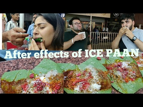 Reactions After Having ICE PAAN  | Prince Paan Gk2 | New Delhi