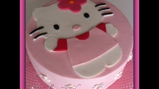 Hello Kitty Torte I Motivtorte I Fondanttorte I Cake