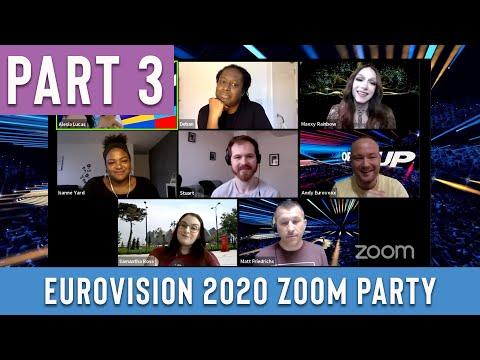 Eurovision 2020 Zoom Party Pt. 3: Alesia Michelle